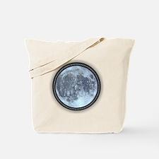 Nasa moon landing Tote Bag