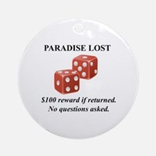 Paradise  Round Ornament