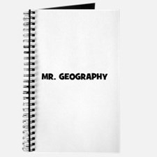 Mr. Geography Journal