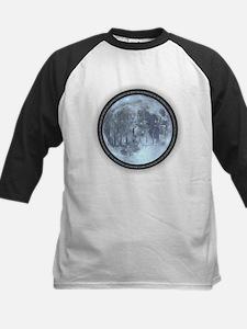 I Love the Moon Baseball Jersey