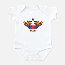 IVAN superstar Infant Bodysuit
