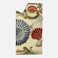 elegant paris beach seashells Beach Towel