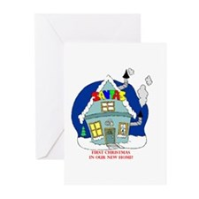 Cool New home Greeting Cards (Pk of 20)