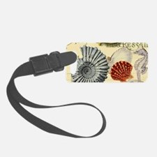 elegant paris beach seashells Luggage Tag