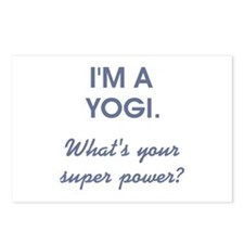 I'M A YOGI... Postcards (Package of 8)