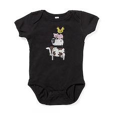 Unique Sheep and lamb Baby Bodysuit