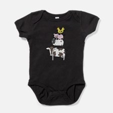 Cute Swine Baby Bodysuit