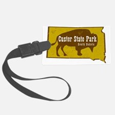 Custer State Park Bison Luggage Tag