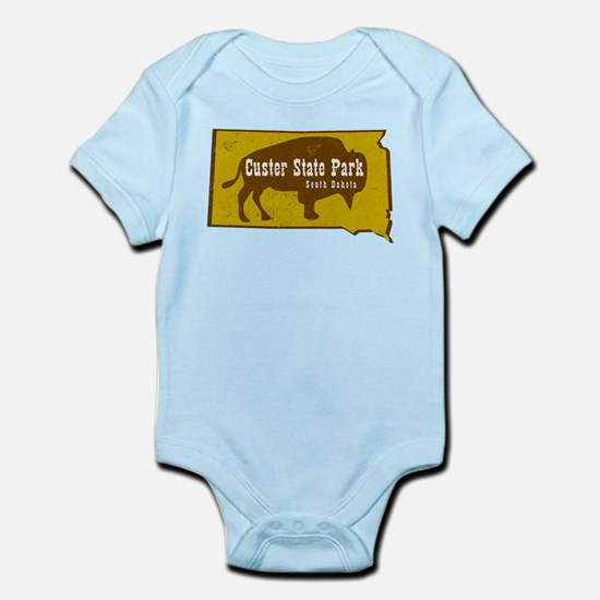 Custer State Park Bison Body Suit