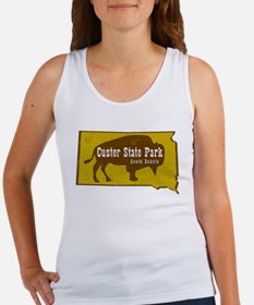 Custer State Park Bison Tank Top