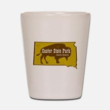 Custer State Park Bison Shot Glass