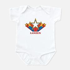 LANDEN superstar Infant Bodysuit