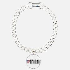 "I ""Heart"" My Airman! Bracelet"