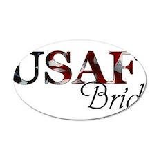 USAF Bride (Flag) Wall Decal