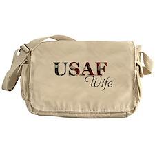 USAF Wife (Flag) Messenger Bag