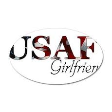 USAF Girlfriend (Flag) Wall Decal