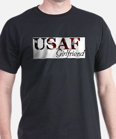 USAF Girlfriend (Flag) T-Shirt