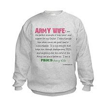 I am...Army Wife.png Sweatshirt