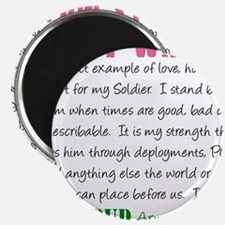 "I am...Army Wife.png 2.25"" Magnet (10 pack)"
