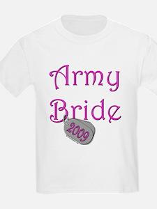 Army Bride Dog Tag_2009.png T-Shirt