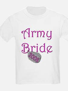 Army Bride Dog Tag 2008.png T-Shirt
