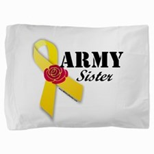 Army Sister (Ribbon Rose) Pillow Sham