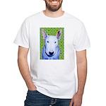 Bull Terrier White T-Shirt