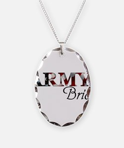 Funny Army mom Necklace