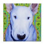 Bull Terrier Art Tile