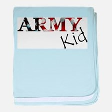 Army girlfriend baby blanket
