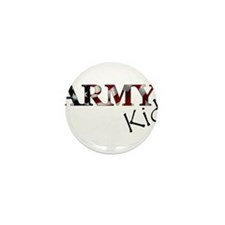 Cool Army girlfriend Mini Button (10 pack)