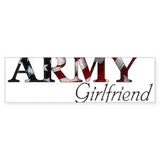 Cute Army girlfriend Bumper Sticker