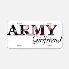 Cute Army mom Aluminum License Plate