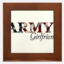 Cute Army mom Framed Tile