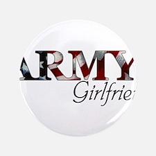 Cute Army girlfriend Button