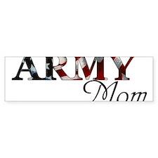 Army Mom (Flag) Bumper Sticker