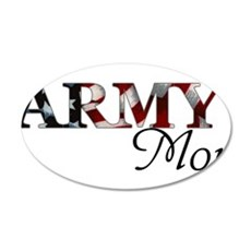 Army Mom (Flag) Wall Decal
