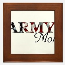 Army Mom (Flag) Framed Tile