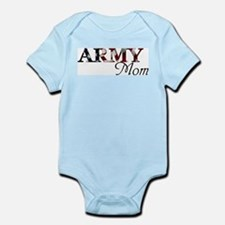 Army Mom (Flag) Infant Bodysuit