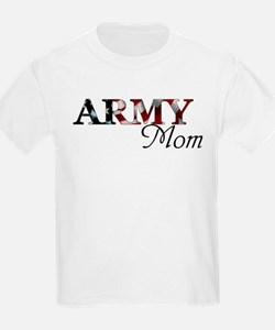 Army Mom (Flag) T-Shirt