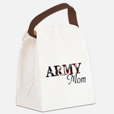 Army Mom (Flag) Canvas Lunch Bag