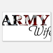 Cute Army wife Decal