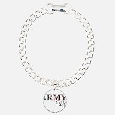 Unique Army mom Bracelet