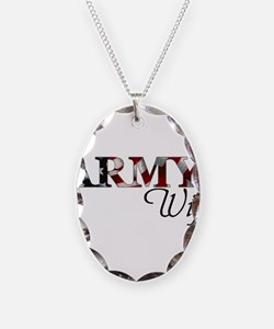 Cute Army mom Necklace
