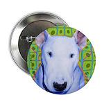 Bull Terrier dog Button
