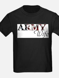 Cute Army wife T