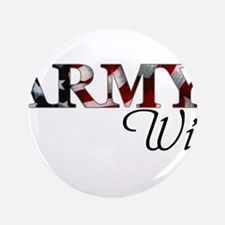 Cute Army wife Button