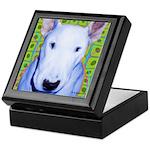 Bull Terrier dog Keepsake Box