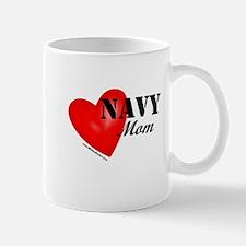 Red Heart_Navy_Mom Mugs