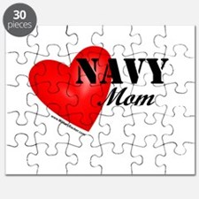 Red Heart_Navy_Mom.png Puzzle